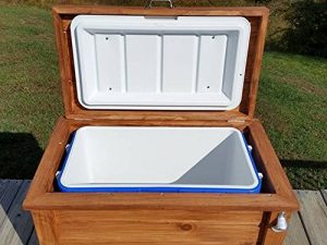 How To Make A Wooden Ice Chest Cooler